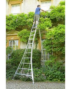 Three adjustable leg Platform Tripod Ladder model AIO 420