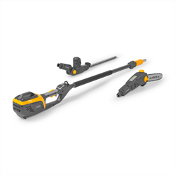 Stiga 500 series 48v Li-ion SMT 500 AE Pole Pruner/Hedge trimmer (battery and charger sold separately)